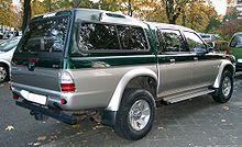Mitsubishi L200 rear 20071016.jpg