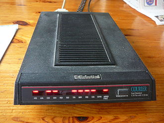 Dial-up Internet access - Active modem