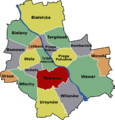 Mokotow Warsaw District Map.png
