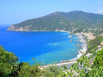 Moneglia - Image: Moneglia panorama