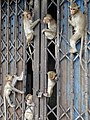 Monkeys outside Prang Sam Yot (Monkey Temple) - Lop Buri - Thailand - 02 (34185078514).jpg