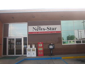 The News-Star - Building housing the Newsroom of the paper.