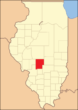 Montgomery County, Illinois - Image: Montgomery County Illinois 1827