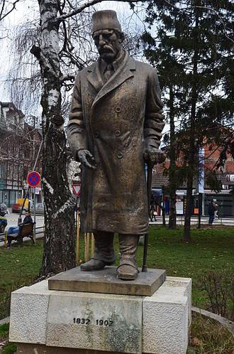Haxhi Zeka - Haxhi Zeka statue