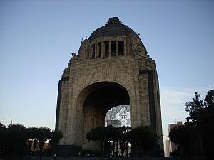 Español: Monumento a la Revolución (parte post...