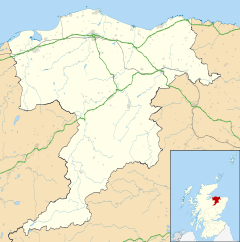 Elgin is located in Moray