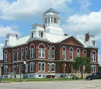 Morgan County, Missouri - Image: Morgan County Courthouse