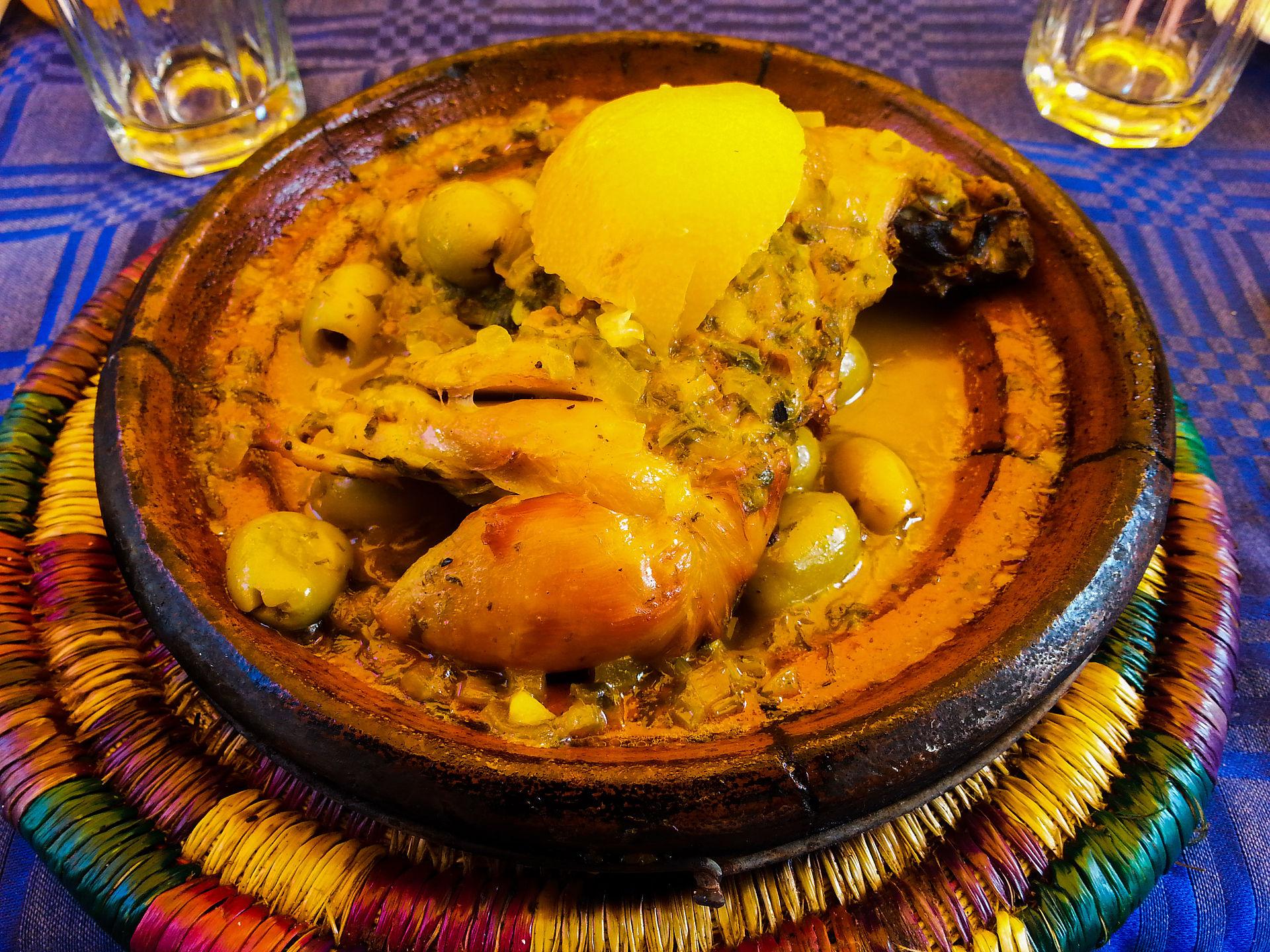Cold Dinner Moroccan Cuisine Wikipedia