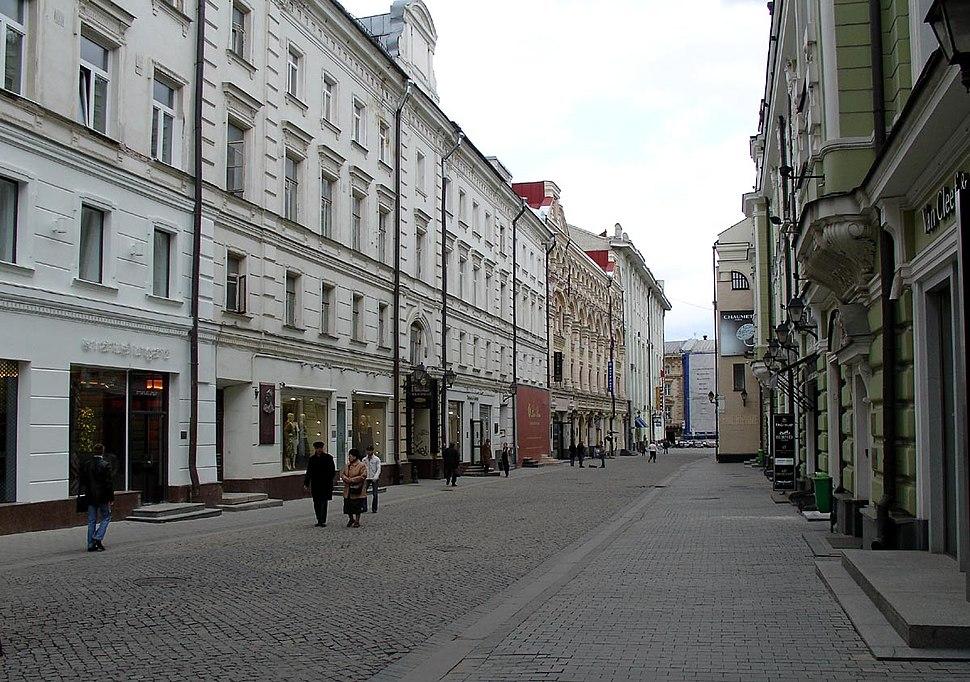 Moscow, Stoleshnikov Lane