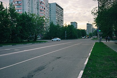 How to get to Улица Бестужевых with public transit - About the place