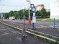 Most, Rudolická, zastávkové sloupky (01).jpg