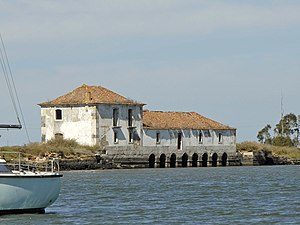 Seixal - Ecomuseu of Seixal, constructed from a river mill constructed during the 18th century