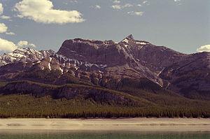 Roland Michener - Mount Michener's north face