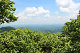 Mount Oglethorpe - View from Mount Oglethorpe