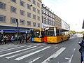 Movia bus line 350S and 25 at Nørreport Station.jpg