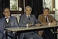 Mr CURIEN Ministre de la Recherche au collège Pierre Brossolette de Chatenay Malabry-18-cliche Jean Weber.jpg