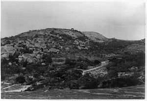 Matobo National Park - Mt Effefe ca. 1900.