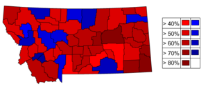Montana gubernatorial election, 2012 - Image: Mt gov 2012
