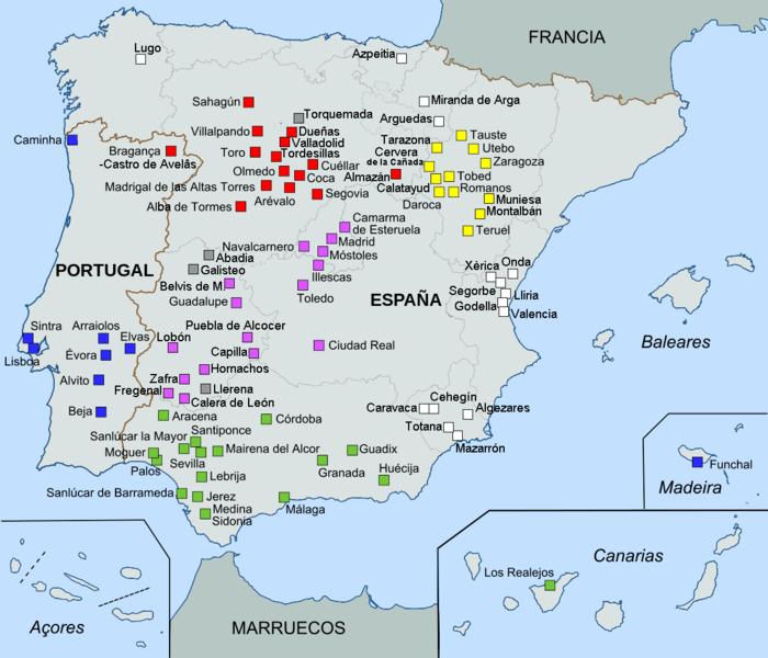 File:Mudéjar architecture in Spain & Portugal.png