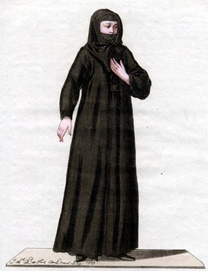 Eastern Christian monasticism - Nestorian nun