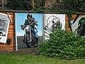 Mural, Kelvingrove Park. 9 - Hairy biker - geograph.org.uk - 1517024.jpg