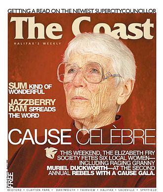 The Coast - Image: Muriel Duckworth Coast cover