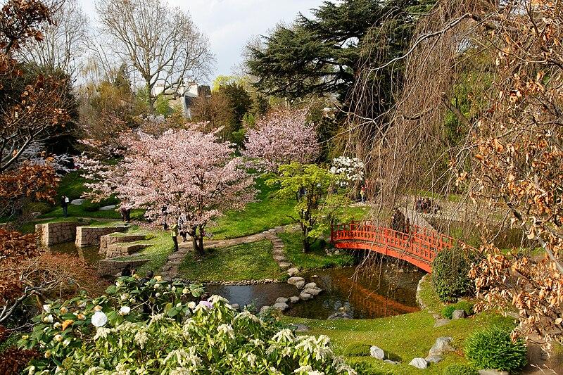 Jardim mais bonitos de Paris
