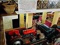Museu Agromen de Tratores e Implementos Agrícolas, localizado no complexo do Centro Hípico e Haras Agromen em Orlândia. Trator Fergusson 35, o Ferguinho, em cima do caminhão Mercedes-Benz - panoramio.jpg
