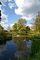 Myddelton House garden, Enfield, London ~ lakeside looking northwest.jpg