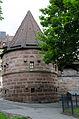 Nürnberg, Stadtmauer, Mauerturm Schwarzes B, 003.jpg
