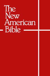 New American Bible English-language Catholic Bible translation