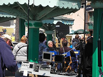 NCIS (TV series) - The filming crew in 2009