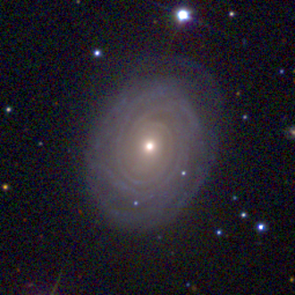 NGC 7001 - Intermediate spiral galaxy NGC 7001.