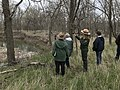 NTIR Staff explain details about Rock Creek Crossing in Council Grove, KS - 3 (226158a2f8ac40b3a5df8219528cb2fd).JPG