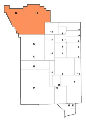 Pahute Mesa - Location of Pahute Mesa within the Nevada National Security Site