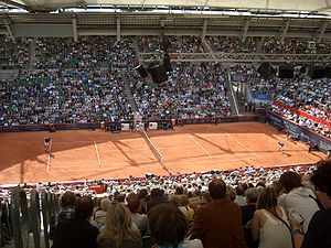 German Open Tennis Championships - Nadal vs Starace at the 2008 German Open