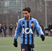 Nahir Oyal 28th January 2012 DIF vs Sirius.jpg