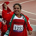 Najat El Garaa F40 Discus thrower at the 2012 Summer Paralympics.jpg
