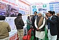 Narendra Modi at Rickshaw Sangh programme by the Bhartiya Micro Credit, in Lucknow, Uttar Pradesh. The Governor of Uttar Pradesh, Shri Ram Naik and the Union Home Minister, Shri Rajnath Singh are also seen (1).jpg
