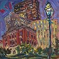 Natural Science, Night. In Boston. 24x30 inches.jpg