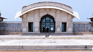 Pavilion - Image: Naulakha Pavilion in Lahore Fort