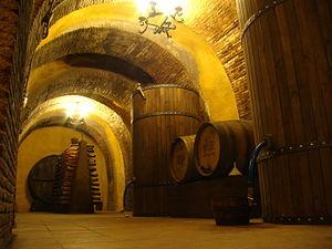 Rueda (DO) - Underground cellar.