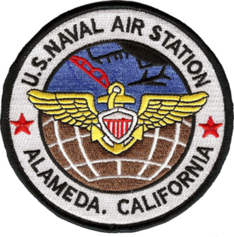 Naval Air Station Alameda - Image: Naval Air Station Alameda patch (coloured)