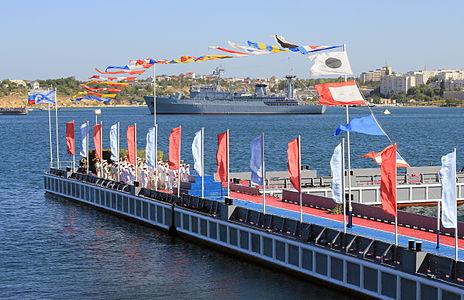 The Navy Day in Sevastopol