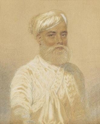 Triplicane Big Mosque - Muhammad Ali Khan Wallajah, the Nawab of Arcot, who built the Biq Mosque