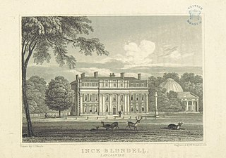 Ince Blundell Hall former country house in Merseyside, England