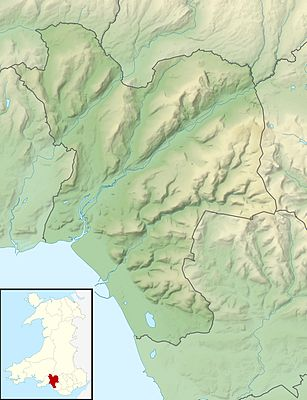 Location map Wales Neath Port Talbot