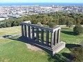Nelson Monument view of National Monument - geograph.org.uk - 1516553.jpg
