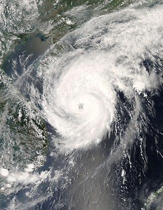 2008 Pacific typhoon season - Image: Neoguri 17 apr 2008 0550Z