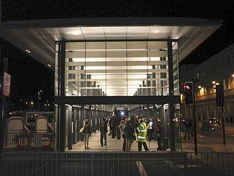 Bath bus station - New Bath bus station